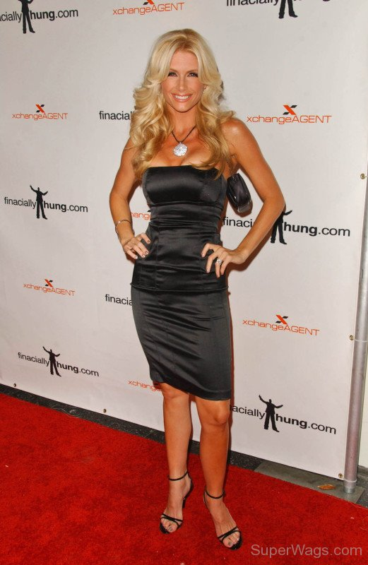 Brande Roderick Standing On Red Carpet | Super WAGS ...