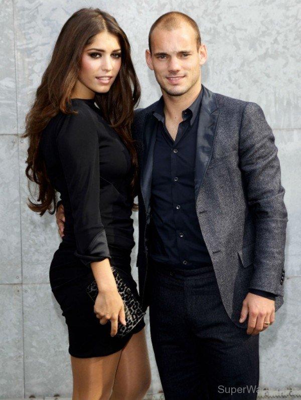 Wesley Sneijder Girlfriend